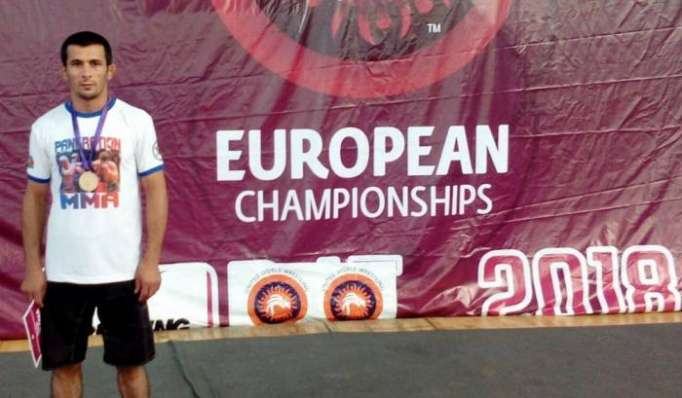 Azerbaijani pankration fighter crowned European champion
