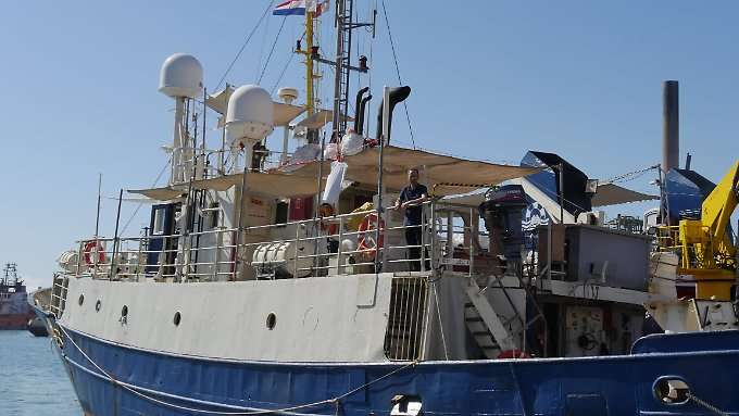 Italien beschlagnahmt deutsche Retterschiffe