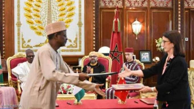 المغرب ونيجيريا يتفقان لمد خط أنابيب للغاز برا وبحرا
