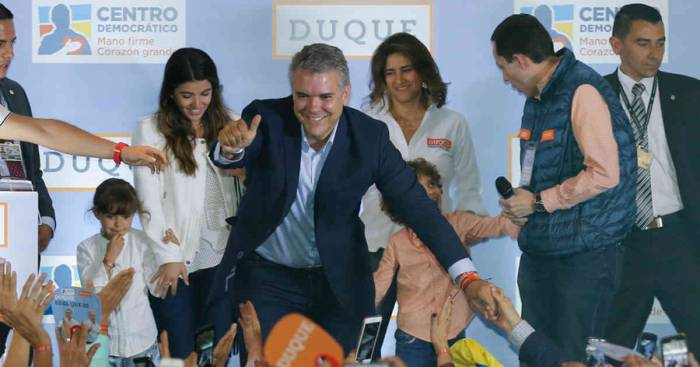 Ivan Duque wins presidential election, becomes next president of Colombia