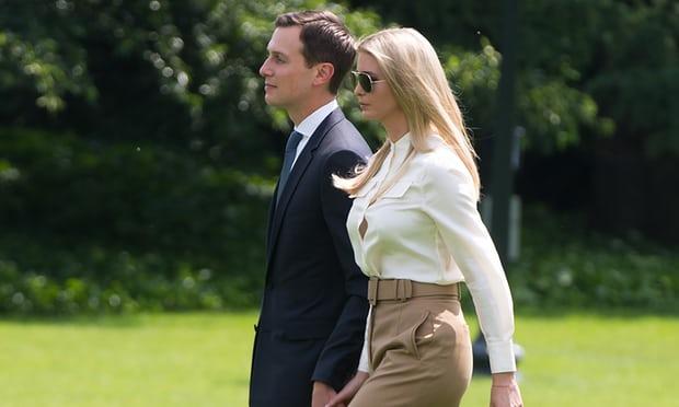 Ivanka Trump and Jared Kushner made over $82m outside White House roles
