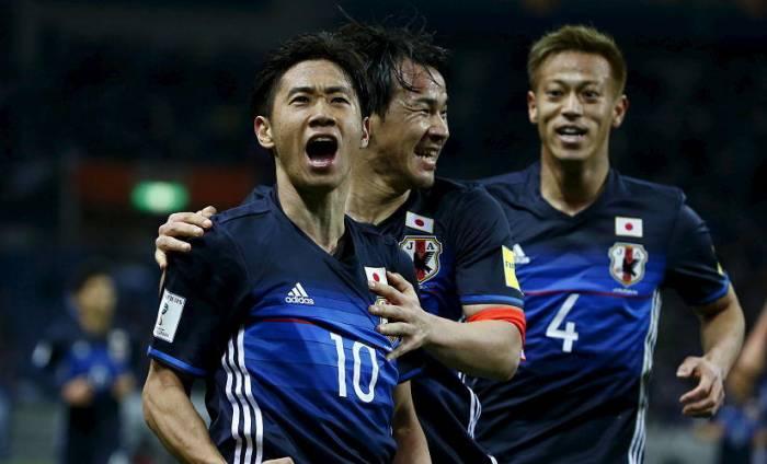 Japan beats Colombia 2-1 in teams