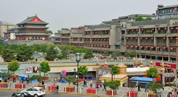 Chine: le toit d