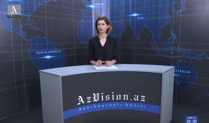 AzVision TV publica nueva edición de noticias en inglés (el 12 de junio)-Video