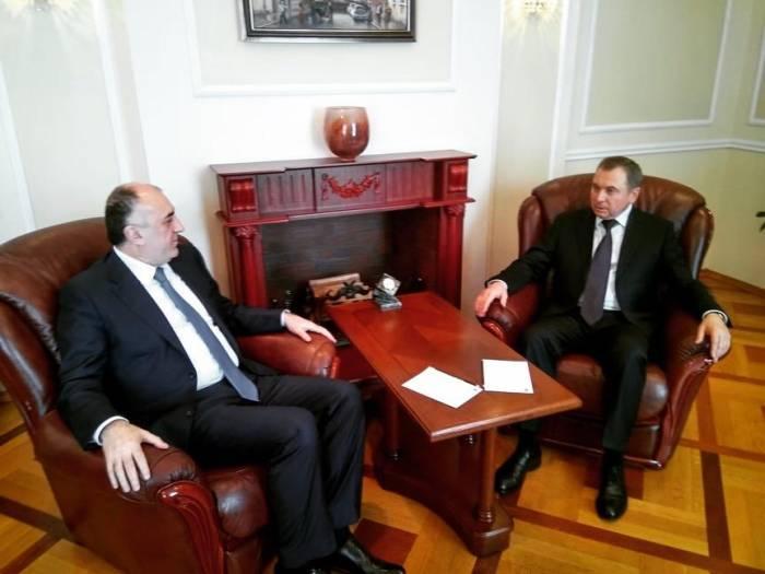 Azerbaijani, Belarus FMs meet
