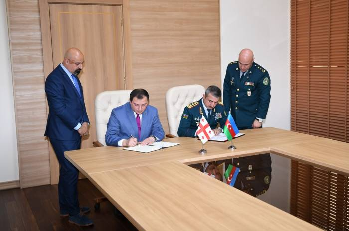 Azerbaijan and Georgia sign agreement on activities of border commissioners - PHOTOS