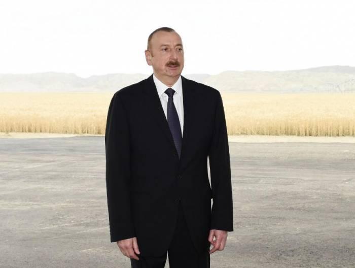 """İlham Əliyev: """"İdxaldan asılılığımızı daha da azaldacağıq"""""""