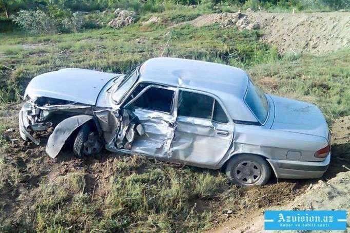 6 nəfər yol qəzasında yaralanıb