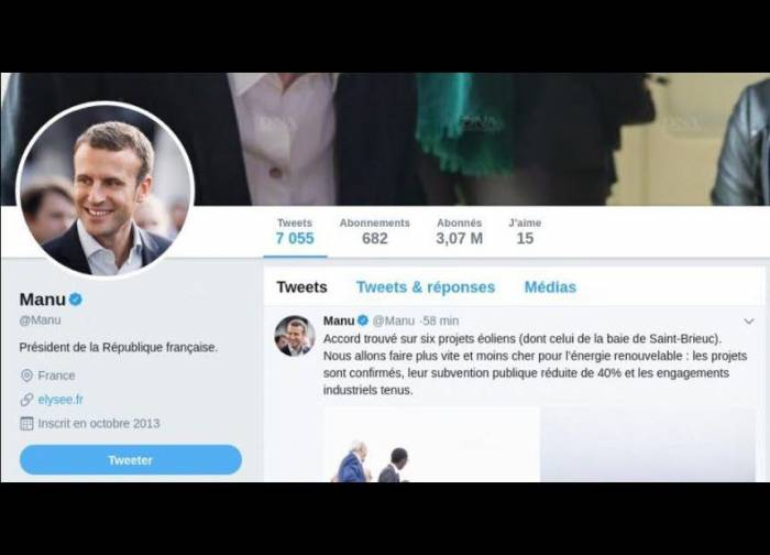 """Quand votre navigateur web remplace """"Emmanuel Macron"""" par """"Manu"""""""