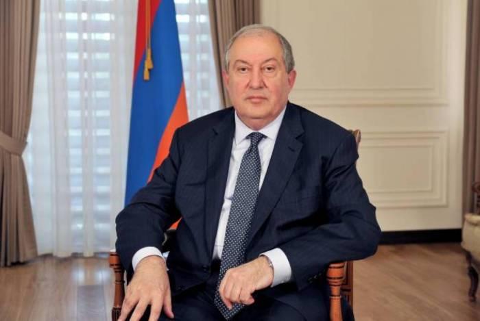 Sargsyán arriba a Nagorno Karabaj