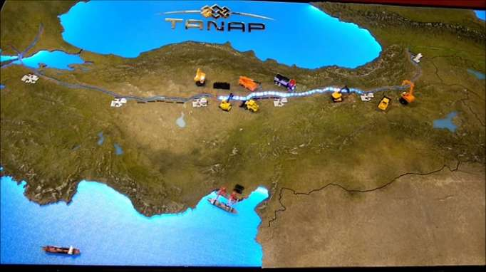 Kazakhstan offers its experience in controlling costs to TANAP participants
