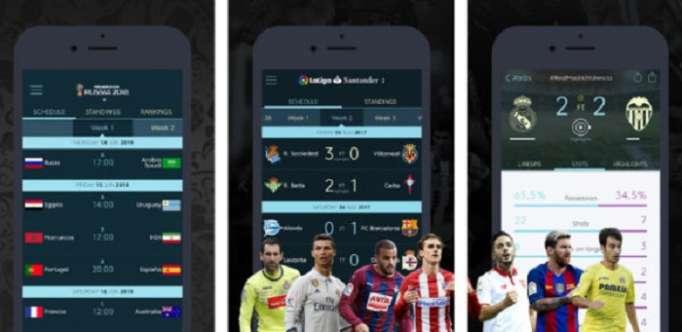 Une app de foot fait de l