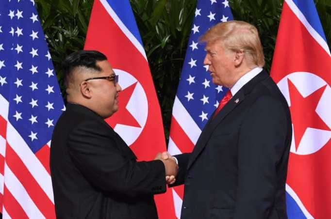 La Corée du Nord reste une menace nucléaire selon Trump