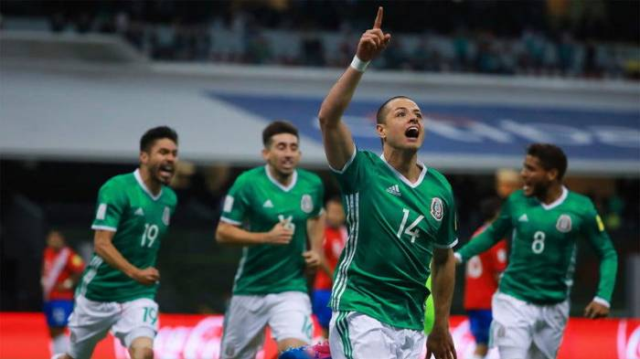 Mexico beats FIFA 2014 champion Germany 1-0 at FIFA World Cup in Russia
