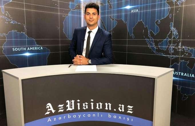 AzVision Nachrichten: Alman dilində günün əsas xəbərləri (11 iyun) - VİDEO