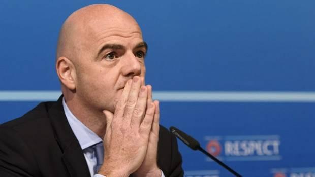 FIFA president Infantino hails