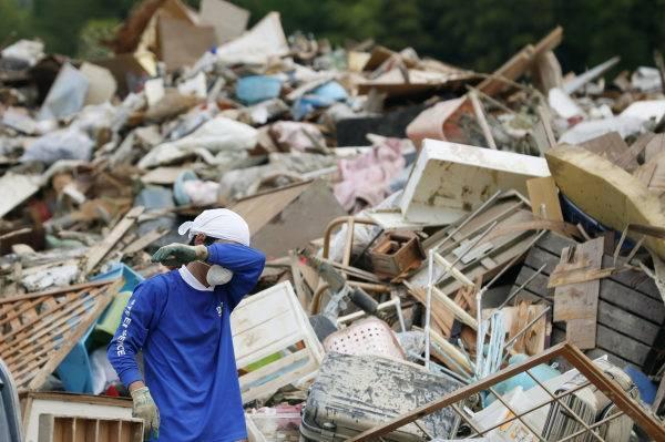 Après les inondations, le Japon écrasé par la chaleur