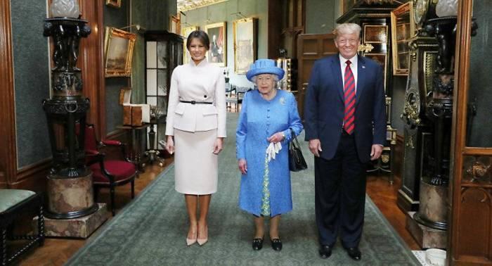Charles et William auraient «snobé» Donald Trump lors de sa visite au Royaume-Uni