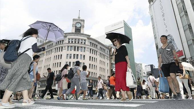 "Japan ächzt unter ""lebensbedrohlicher"" Hitze"