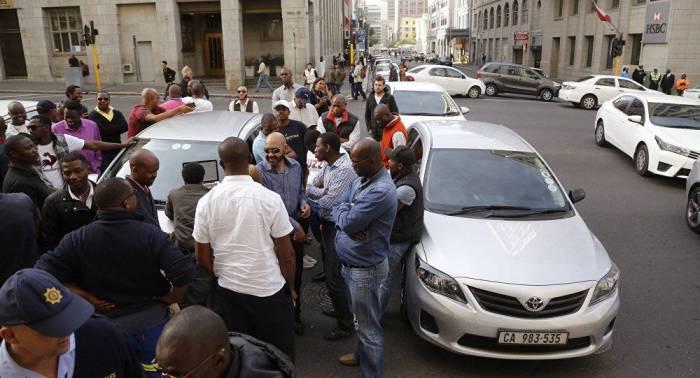 Gunmen ambush taxi drivers in South Africa killing 11