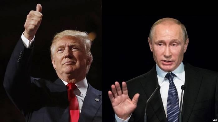 Tramp Putini Vaşinqtona dəvət edib