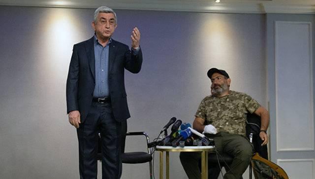 Paşinyan: Sarkisyan həbs oluna bilər