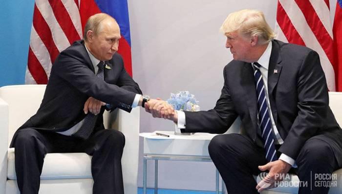 """Tramp Putinlə """"gizli"""" görüşmək istəyir"""