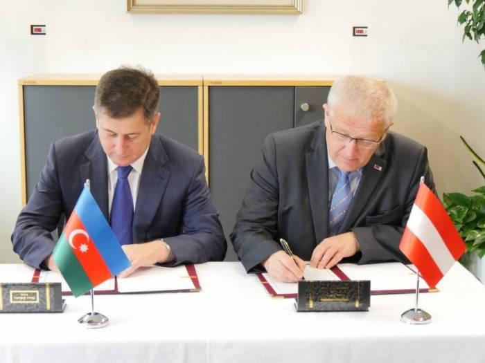 Komitə sədri Vyanada memorandum imzalayıb