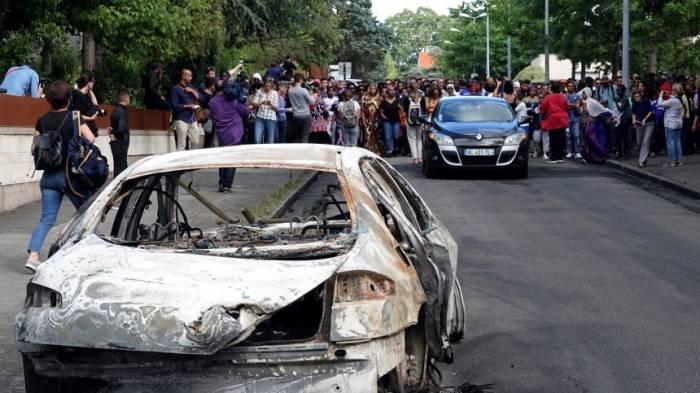 Erneut Krawalle in Nantes nach tödlicher Polizeikontrolle