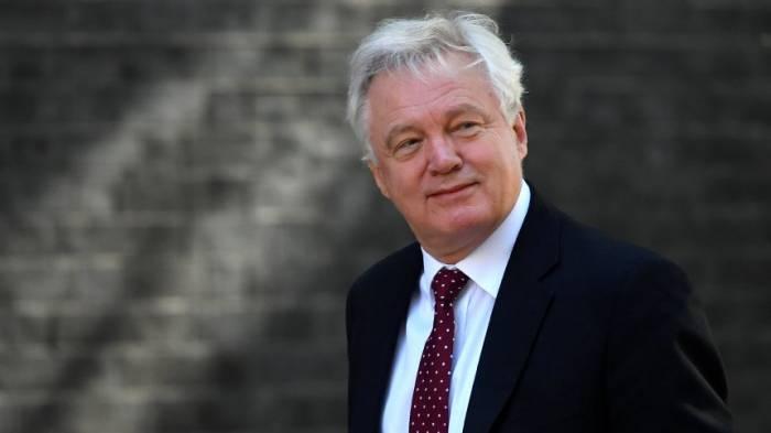 Brexit-Minister David Davis tritt zurück