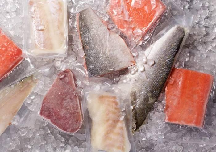 Buying frozen fish isn