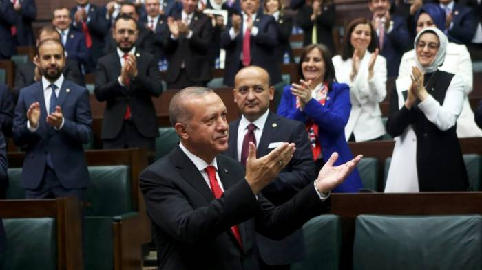 Türkischer Präsidentlegt Amtseid ab