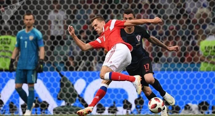 """WM 2018: FIFA kürt russische """"Sbornaja"""" zu bestem Team im Verteidigungsspiel"""