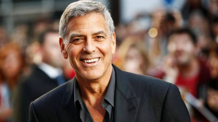 George Clooney hospitalized after motorbike accident in Italy