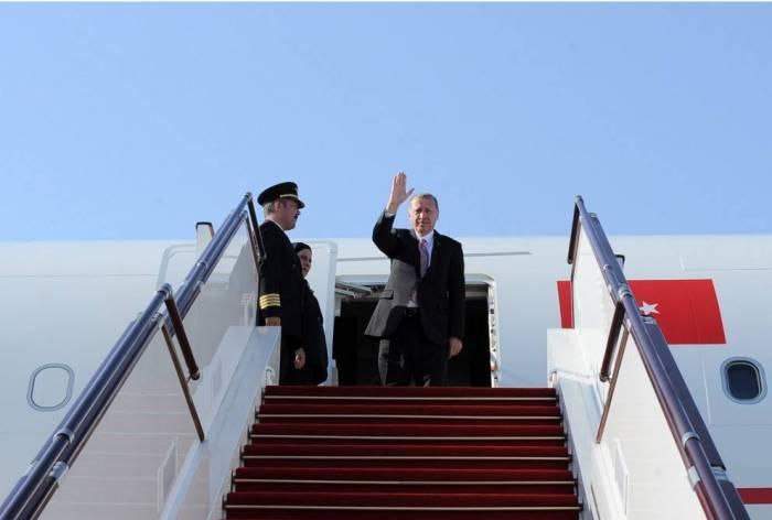 Erdogan termine sa visite officielle en Azerbaïdjan