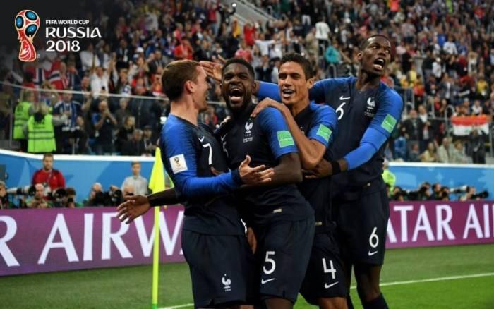 Fransa tarixində üçüncü dəfə finala çıxdı - Yenilənib