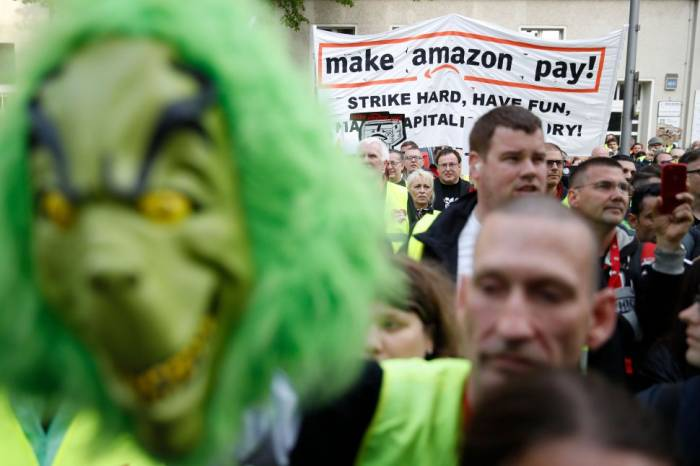 Amazon Prime Day hit by huge strike as customers asked not to take part in deals