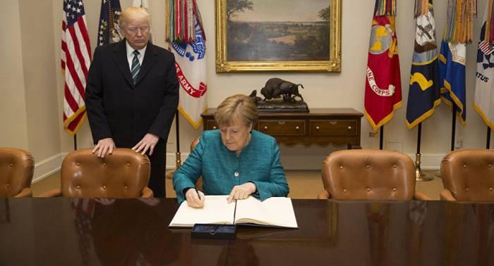"""Deutschland von Russland """"kontrolliert"""": Merkel weist Trumps Kritik zurück"""