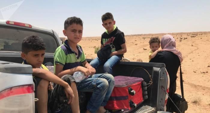 An nur einem Tag: Mehr als 900 Zivilisten aus südlicher Deeskalationszone evakuiert