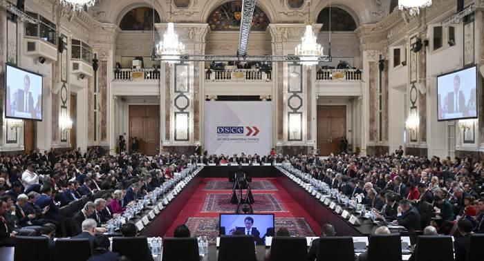Russland verlässt Sitzungssaal bei parlamentarischer Versammlung von OSZE