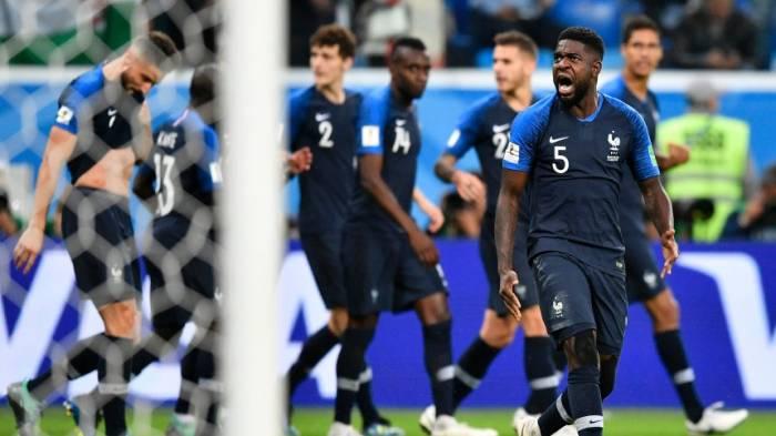 Frankreichs WM-Abwehr