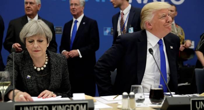 """May als """"nette Person"""": Trump nennt jedoch """"großartige"""" Kandidatur für Premieramt"""