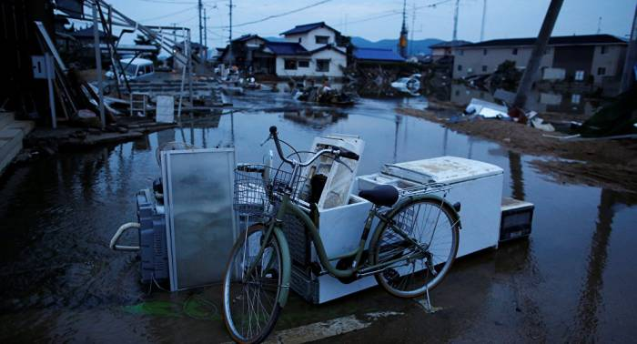 Aumenta a 209 el número de muertos por inundaciones en Japón