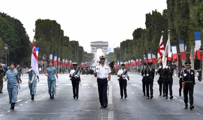 París celebra fiesta nacional antes de la final del Mundial