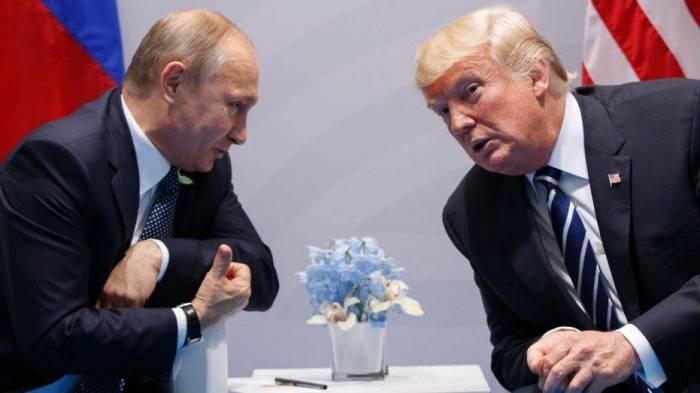 Putinlə Tramp görüşdü -