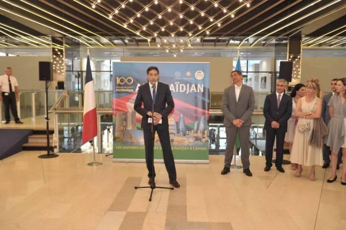 Cannes : la Fondation Heydar Aliyev lance les Journées culturelles de l'Azerbaïdjan