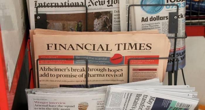 El diario Financial Times pide más autonomía para Cataluña