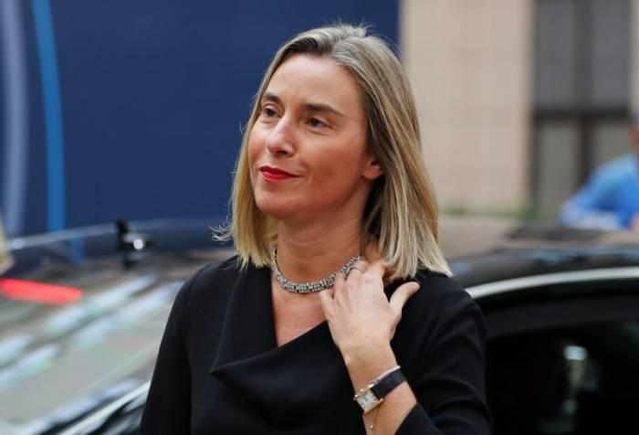 """Mogherini dice que habría que preguntar a Trump """"a quién considera su amigo"""""""