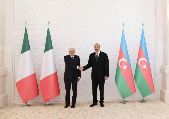 Président italien: Le gaz de la Caspienne est important pour l
