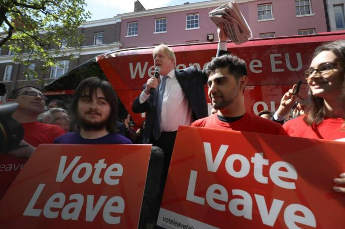 Brexit campaign Vote Leave fined and referred to police
